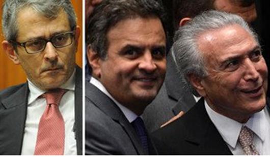 Folha denuncia acordo para salvar Temer e evitar cassação de Aécio