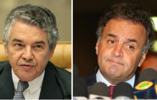 Marco Aurélio diz que Senado deve convocar suplente de Aécio
