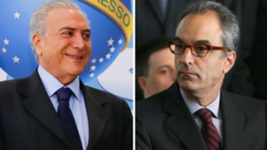 O Globo pede cassação de Temer