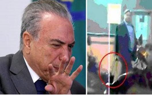 Polícia Federal conclui que Michel Temer é corrupto
