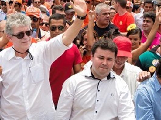 Ricardo Coutinho e Aledson Moura