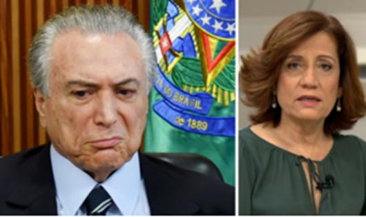 Se absolver Temer, TSE pode fechar, diz Miriam Leitão