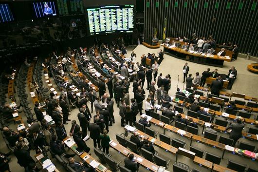 Brasília - Plenário do Congresso Nacional segue apreciando vetos e destaques apresentados aos vetos, antes de iniciar a discussão e apreciação do PL da nova meta fiscal (Fabio Rodrigues Pozzebom/Agência Brasil)