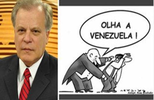 Chico Pinheiro, da Globo, explica a 'crise na Venezuela' para comedores de alfafa
