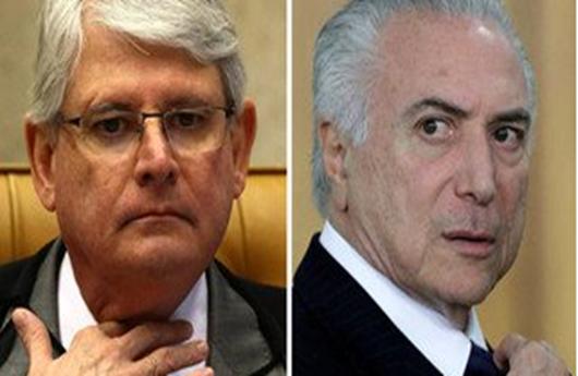 Janot pede ao STF a inclusão de Temer no quadrilhão do PMDB