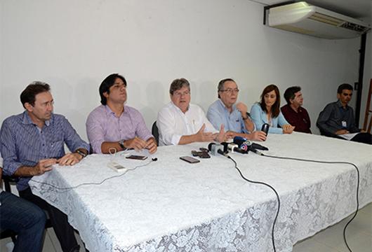João Azevêdo anuncia fim do racionamento d'água em Campina Grande e região a partir do dia 26