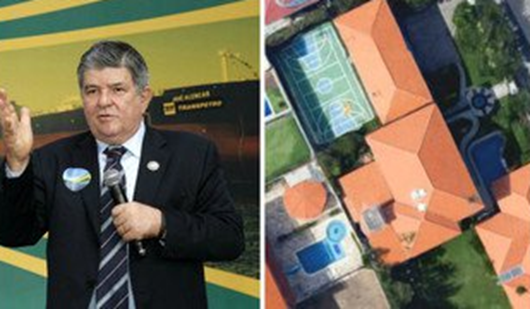 Livre da cadeia, Sérgio Machado vive com luxo em Fortaleza