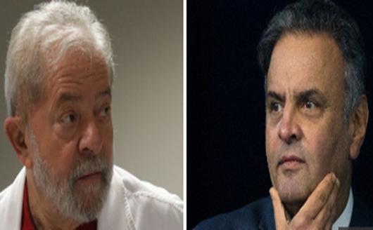 MP desarquiva ação contra Lula no dia em que a PF isentou Aécio
