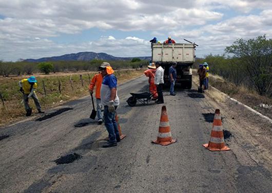 Programa de conservação de rodovias_PB