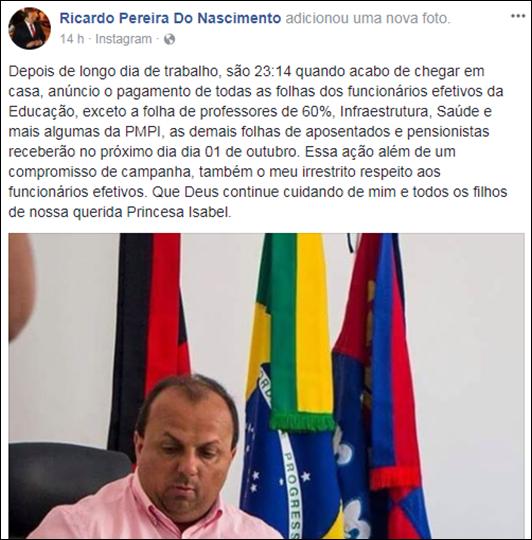 Ricardo Pereira_pagamento_servidor