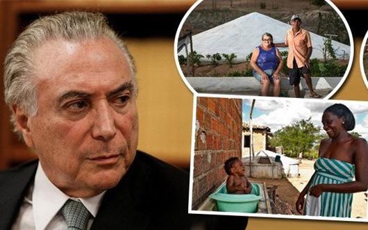 Temer quer acabar com o programa de cisternas, premiado mundialmente