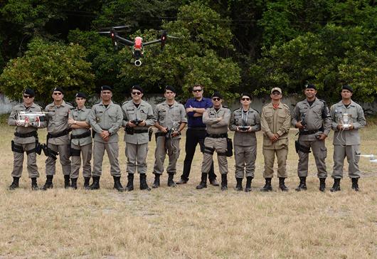 PM_curso de operador de drone_ segurança pública_foto da Secom-PB
