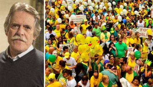 Zé de Abreu_ brasileiro foi às ruas para levar seu país às trevas