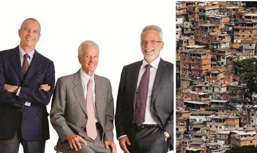 Cinco bilionários têm a renda dos 50% mais pobres_Brasil 247