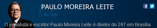 PAULO MOREIRA LEITE