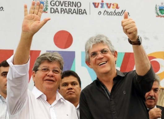 Ricardo Coutinho e João Azevêdo