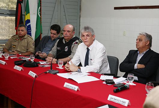 Ricardo Coutinho_reunião_monitoramento da segurança pública