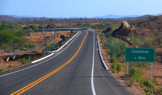 Governo da Paraíba-entrega de rodovia