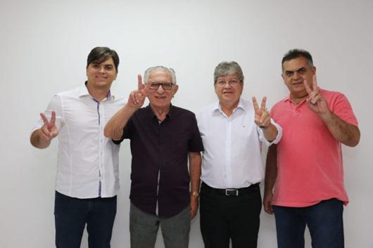 João_apoio de lideranças de Itaporanga