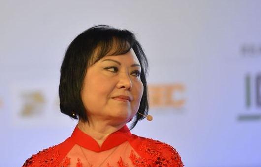 A embaixadora da Boa Vontade da UNESCO, Kim Phúc, fala sobre a autobiografia A Menina da Foto, durante o Encontro Literário IDE, no Anhembi.