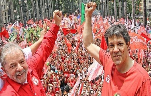 Lula e Haddad_Foto de Ricardo Stuckert