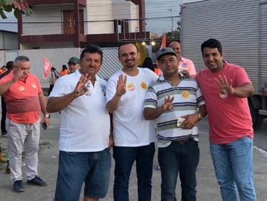 Vereadores de Santa Rita-adesão a Azevêdo