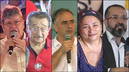 agenda-candidatos ao Governo da Paraíba