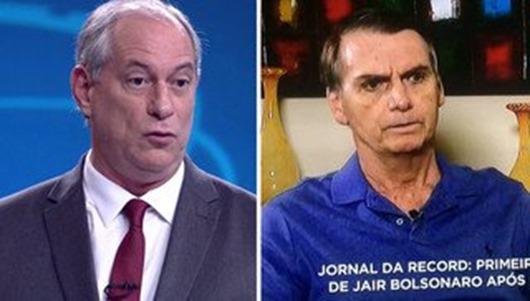 Ciro_bolsonaro 'fujão' de debate