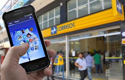 Correios-lançamento-serviço de telefonia móvel