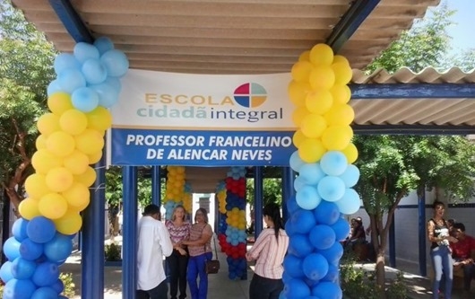 Escola Cidadã Integral Professor Francelino de Alencar Neves_ Itaporanga-PB
