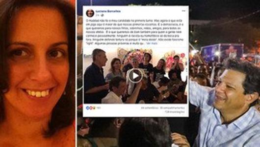 Luciana Barcellos_voto a favor da Democracia