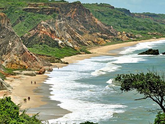 Praia de Tambaba-Foto de Secom-PB