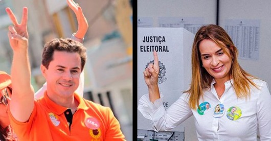Veneziano e Daniella-senadores eleitos