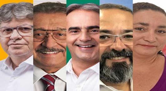 agenda-candidatos ao Governo da PB