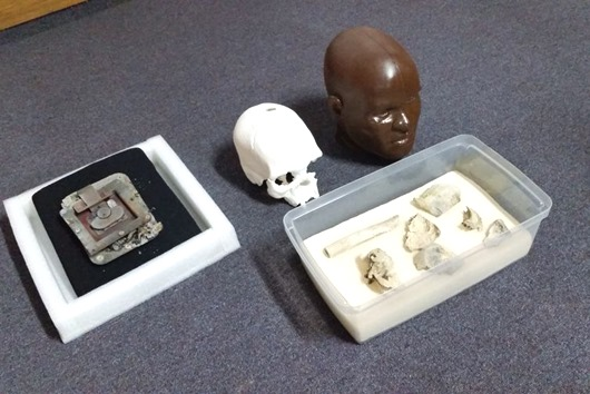 fragmentos-crânio de Luzia-Agência Brasil