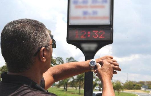 horário de verão-Arquivo Agência Brasil