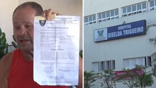 médica rasga receita de paciente que votou em Haddad