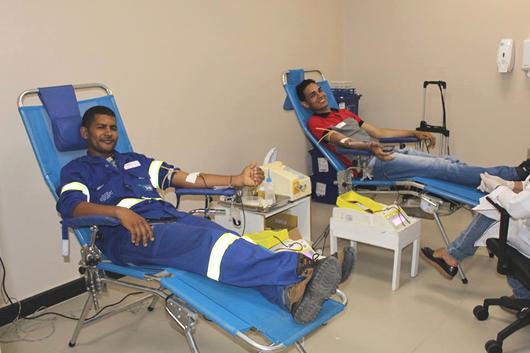 Hospital Metropolitano_campanha de doação de sangue