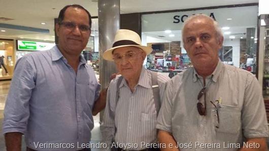 Imagem de Arquivo _Verimarcos Leandro, Aloysio Pereira e José Pereira Lima Neto
