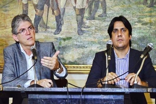 Ricardo Coutinho e Luiz Tôrrres