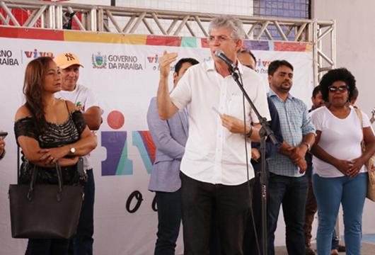 Ricardo Coutinho_entrega de obras em Campina Grande