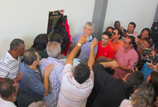Ricardo Coutinho_entrega_ginásio poliesportivo em Cabedelo