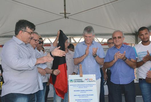Ricardo Coutinho_entrega_restauração da PB-044
