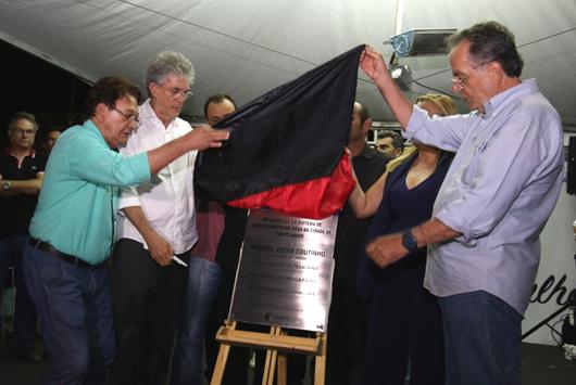 Ricardo Coutino_entrega-sistema de abastecimento de água de Santo André