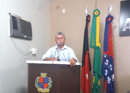 Vereador Arnaldo de Zé da Laje_autor da moção de aplauso