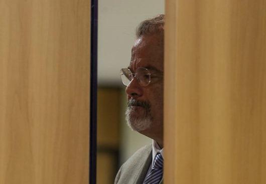O ministro da Segurança Pública, Raul Jungmann fala durante entrevista coletiva sobre o caso da vereadora Marielle Franco e do motorista Anderson Gomes.