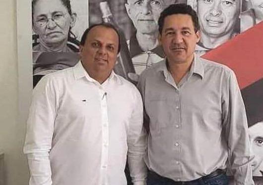 secretário Aléssio Trindade_prefeito Ricardo Pereira