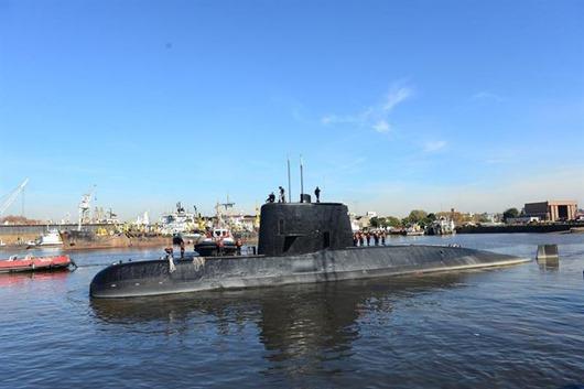 submarino-ara-san-juan-Arquivo-Divulgação-marainha da Argentina
