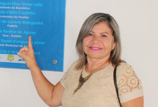vice-prefeita Clarice Melo (PDT)