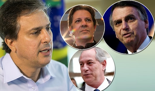 Camilo diz que Ciro teria sido eleito e propõe diálogo com Bolsonaro